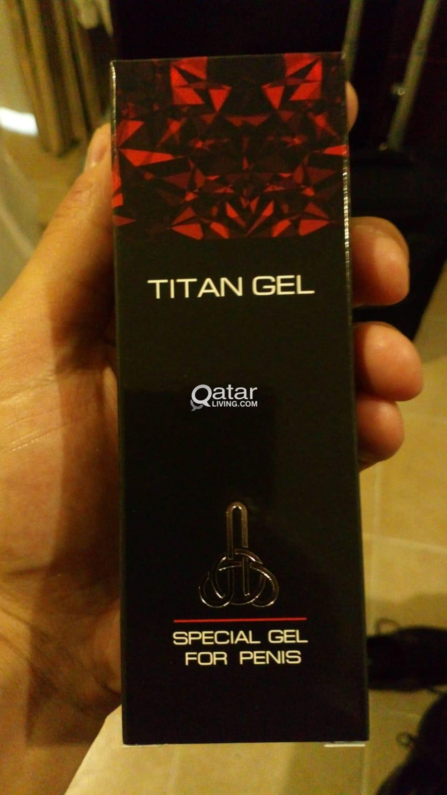 Orignal Titan Gel For Mens Penis Enlargement 180qr Qatar Living