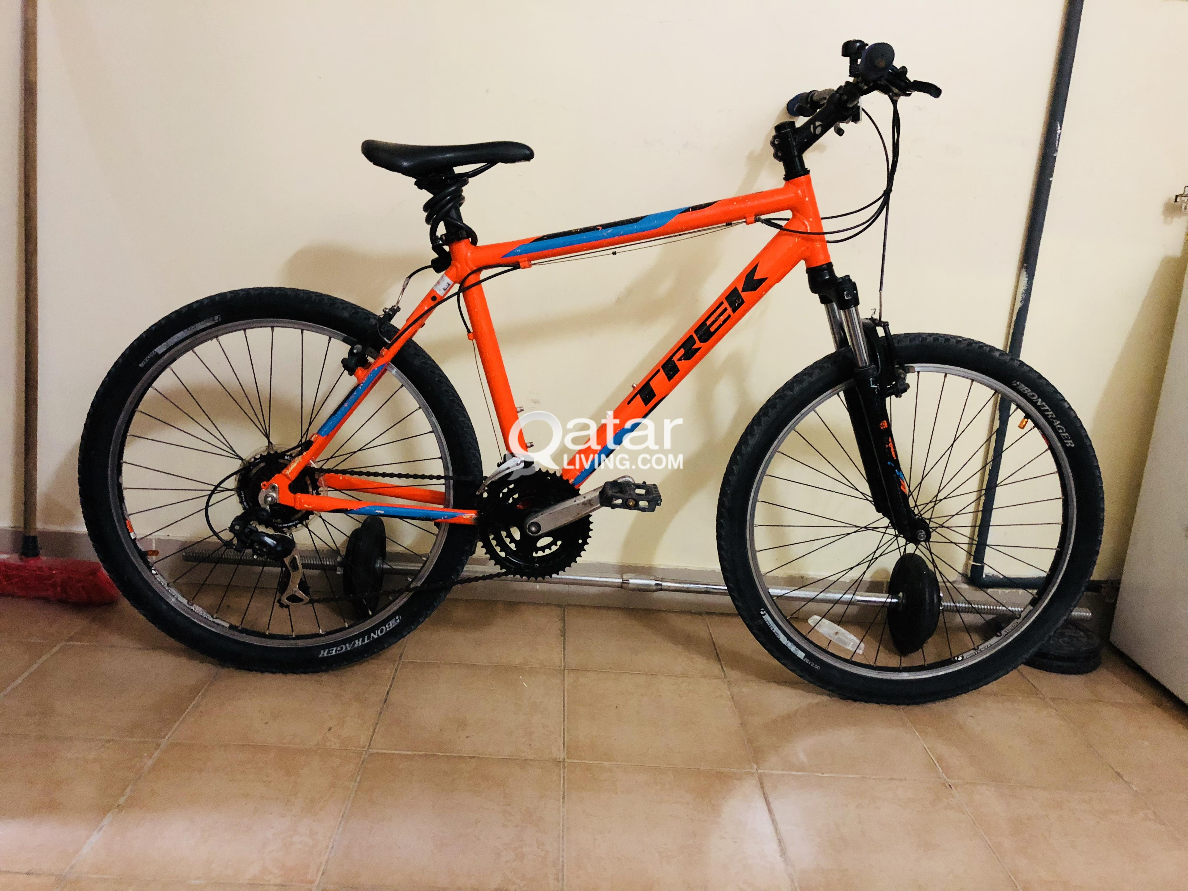 Trek bicycle for sell used candition | Qatar Living