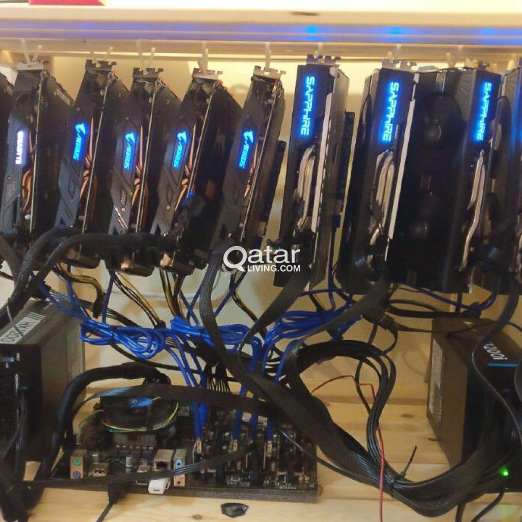 mining rig 19 gpu mother board | Qatar Living