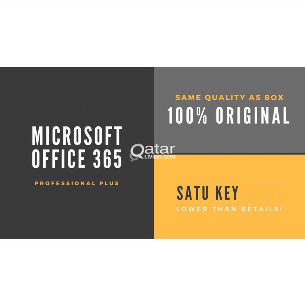 Microsoft office 365 professional plus+5TB OneDriv | Qatar Living