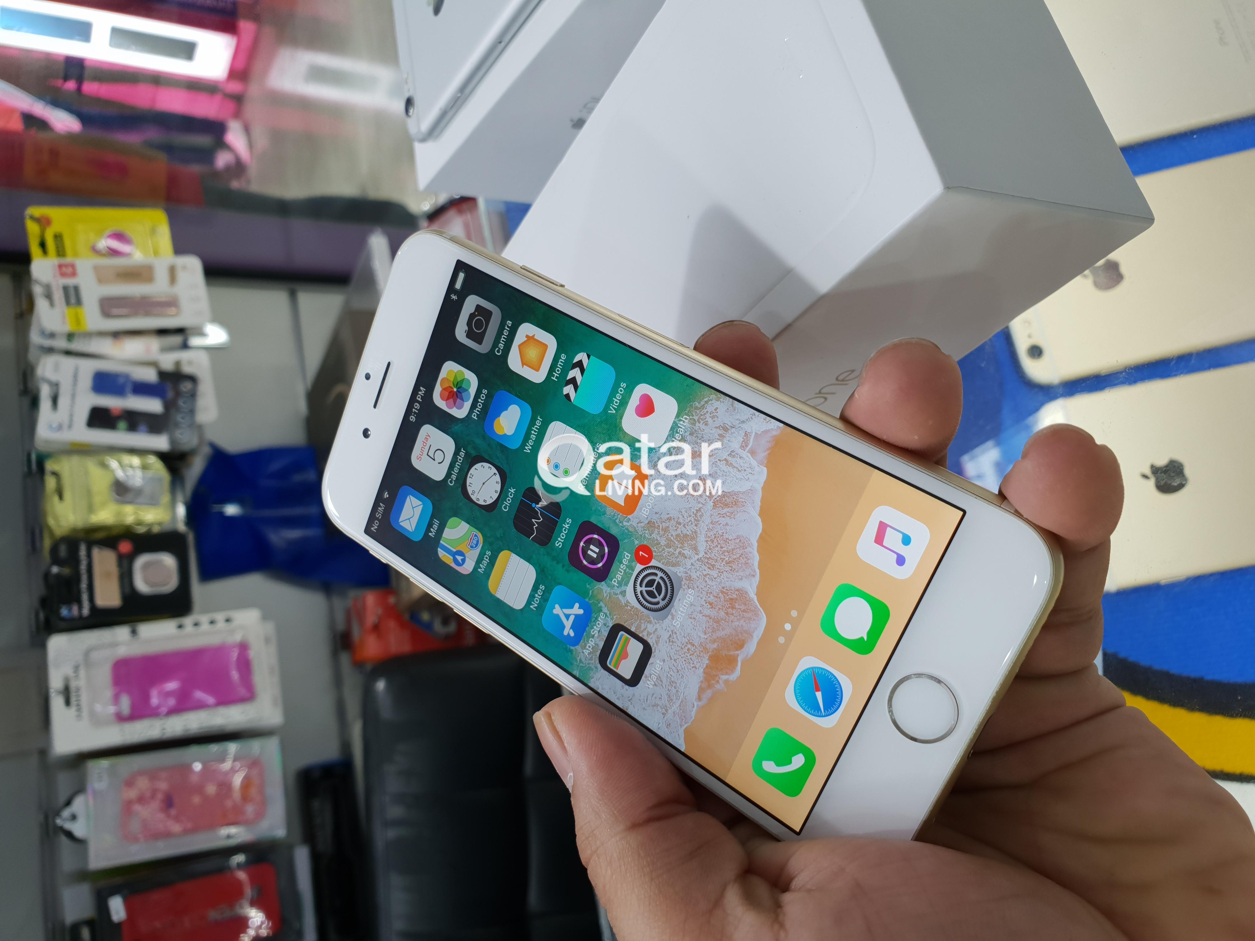 Apple Iphone 6 128gb Qatar Living 6s Information For Sale