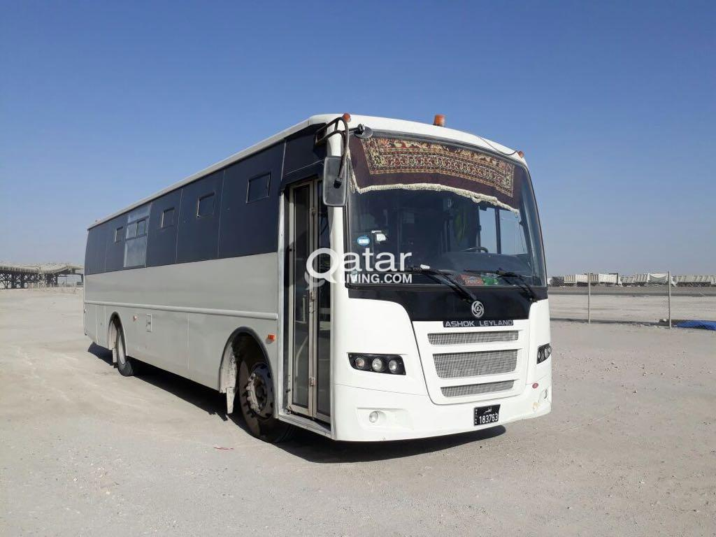 ASHOK LEYLAND BUSES 2015 AVAILABLE FOR RENT | Qatar Living