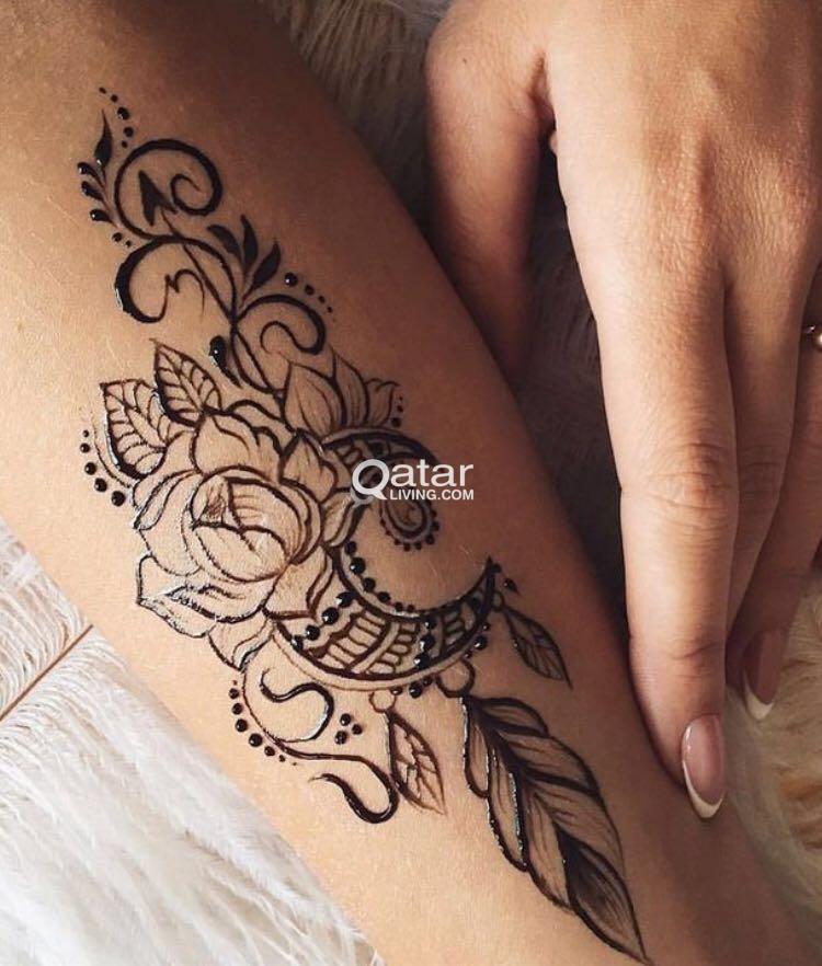 Jagua Henna Designing Its Natural Black Henna Qatar Living