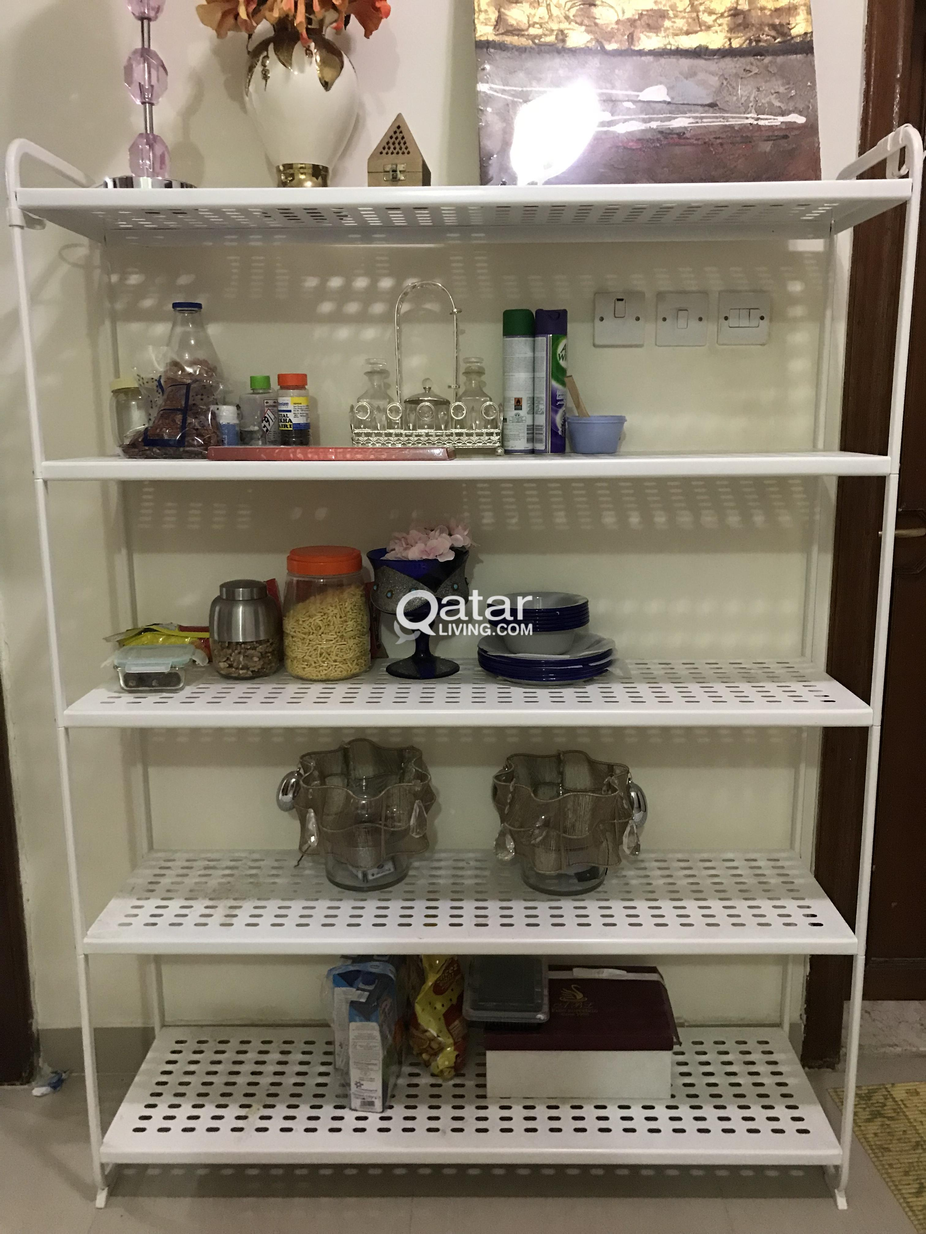 Kitchen Rack Metal From Ikea Qatar Living