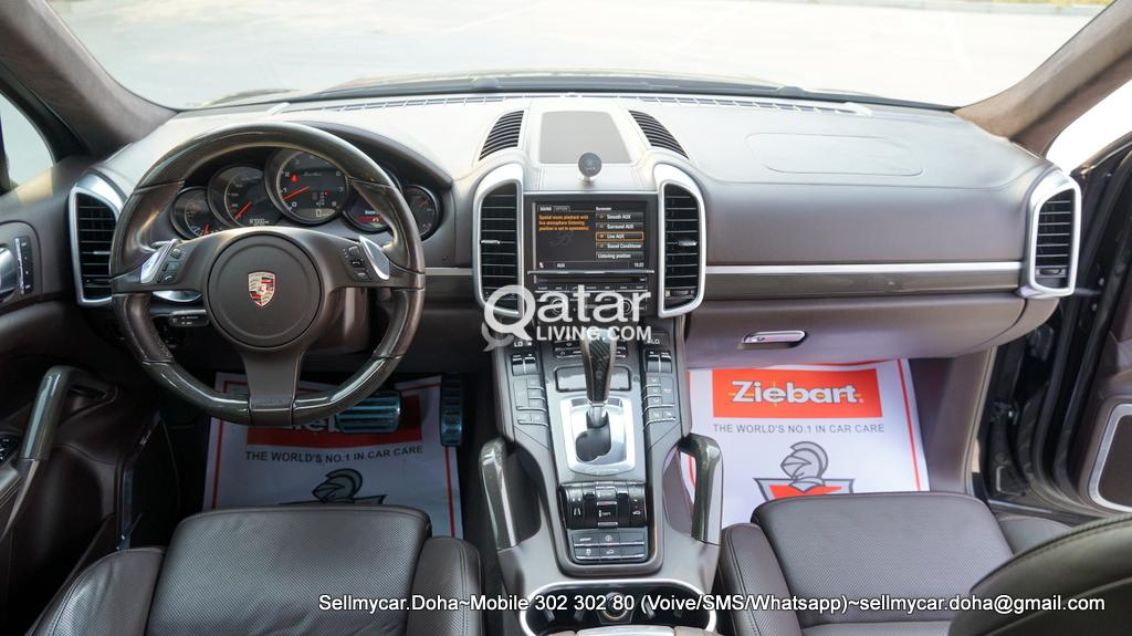 2011 Porsche Cayenne Turbo Black Edition More Photos Available Upon Request Qatar Living