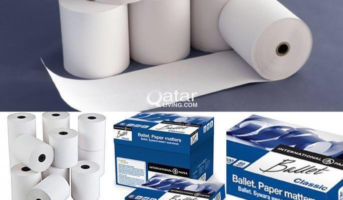 Thermal Paper and A4 Paper Supply | Qatar Living