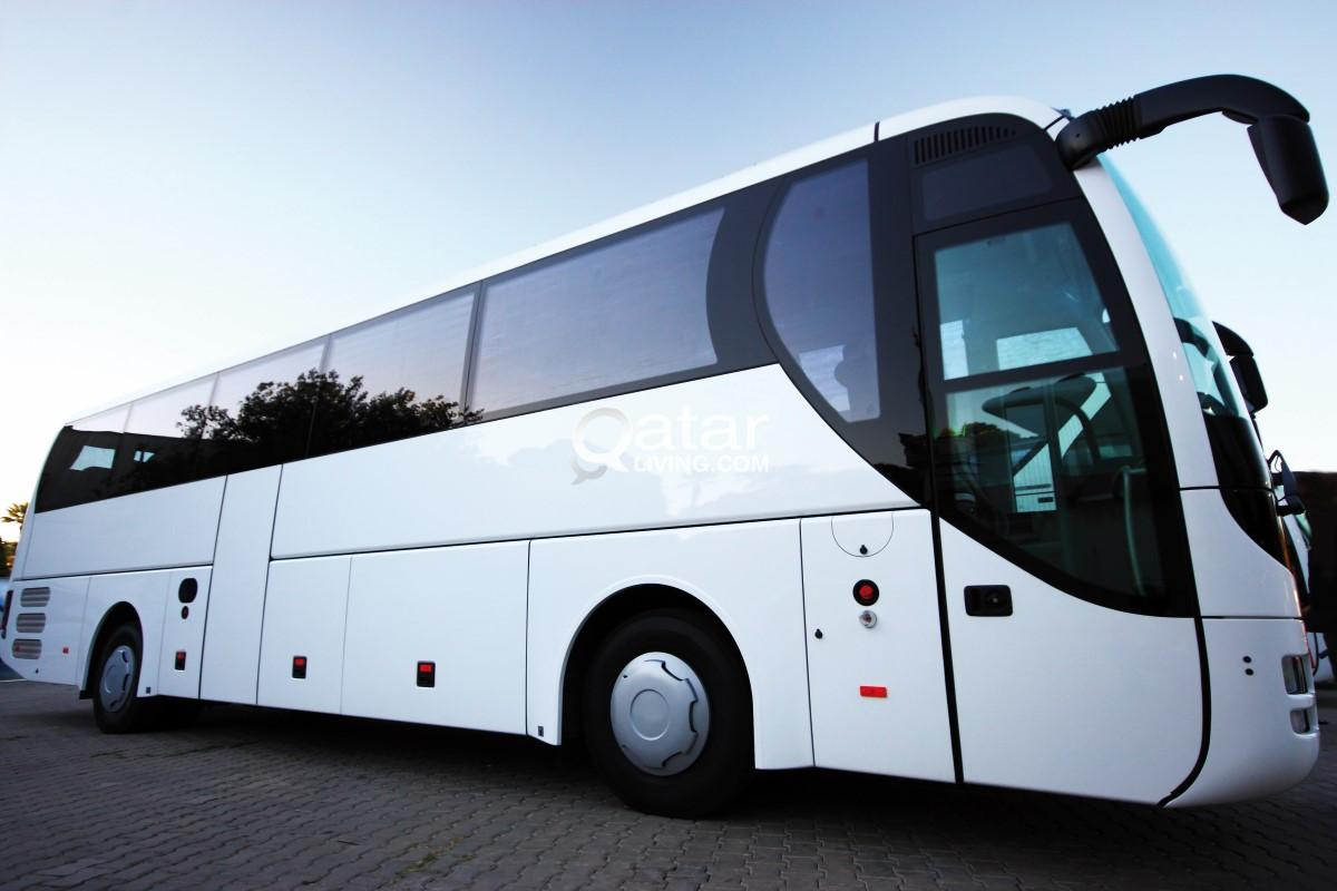 66  Seater bus for rent short and long terms