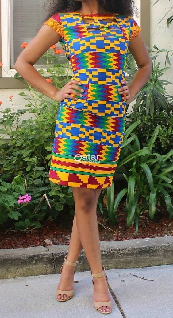 Vibrant African Print Clothing Available in Ankara