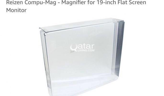 Brand new flat screen magnifier