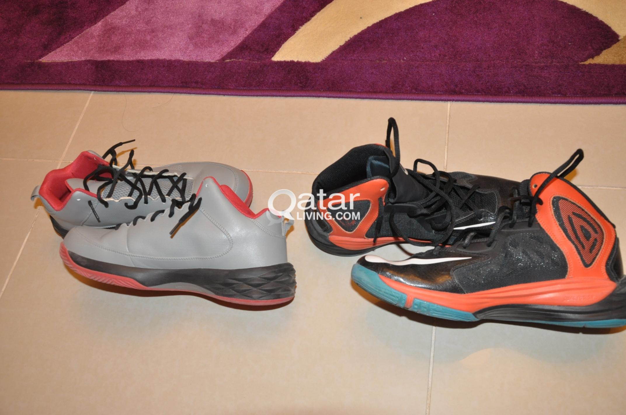 For Sale Peak And Nike Basketball Shoes Qatar Living