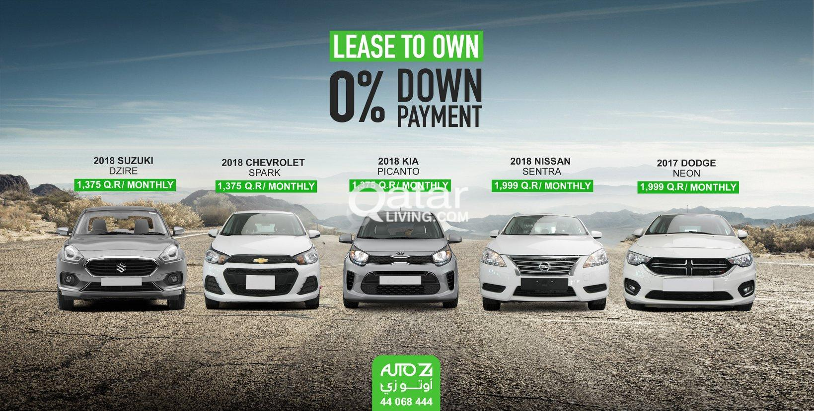 Special Lease To Own offers from Auto Z