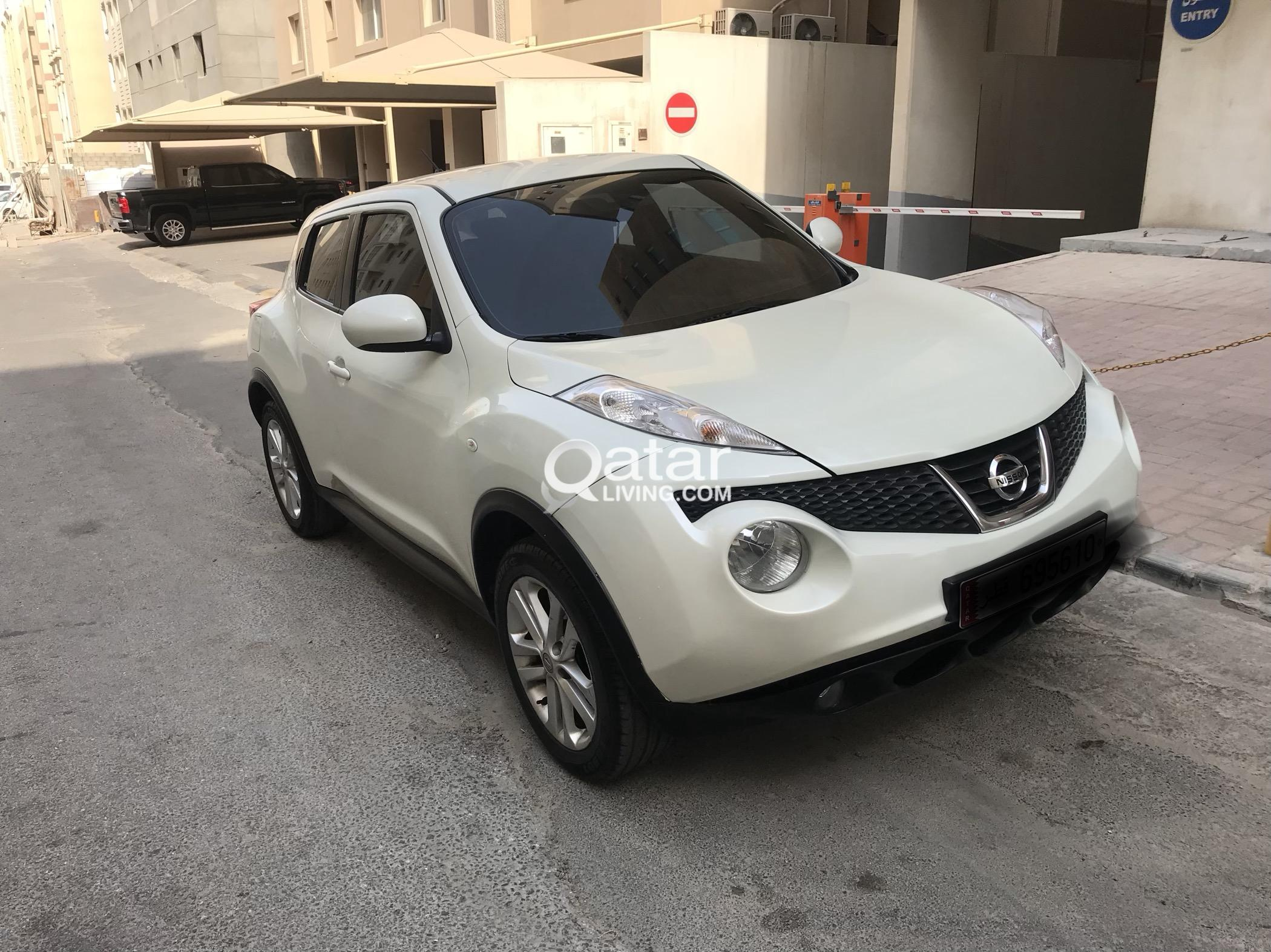 Pearl White Nissan Juke Very Low Kms! Excellent Condition | Qatar Living