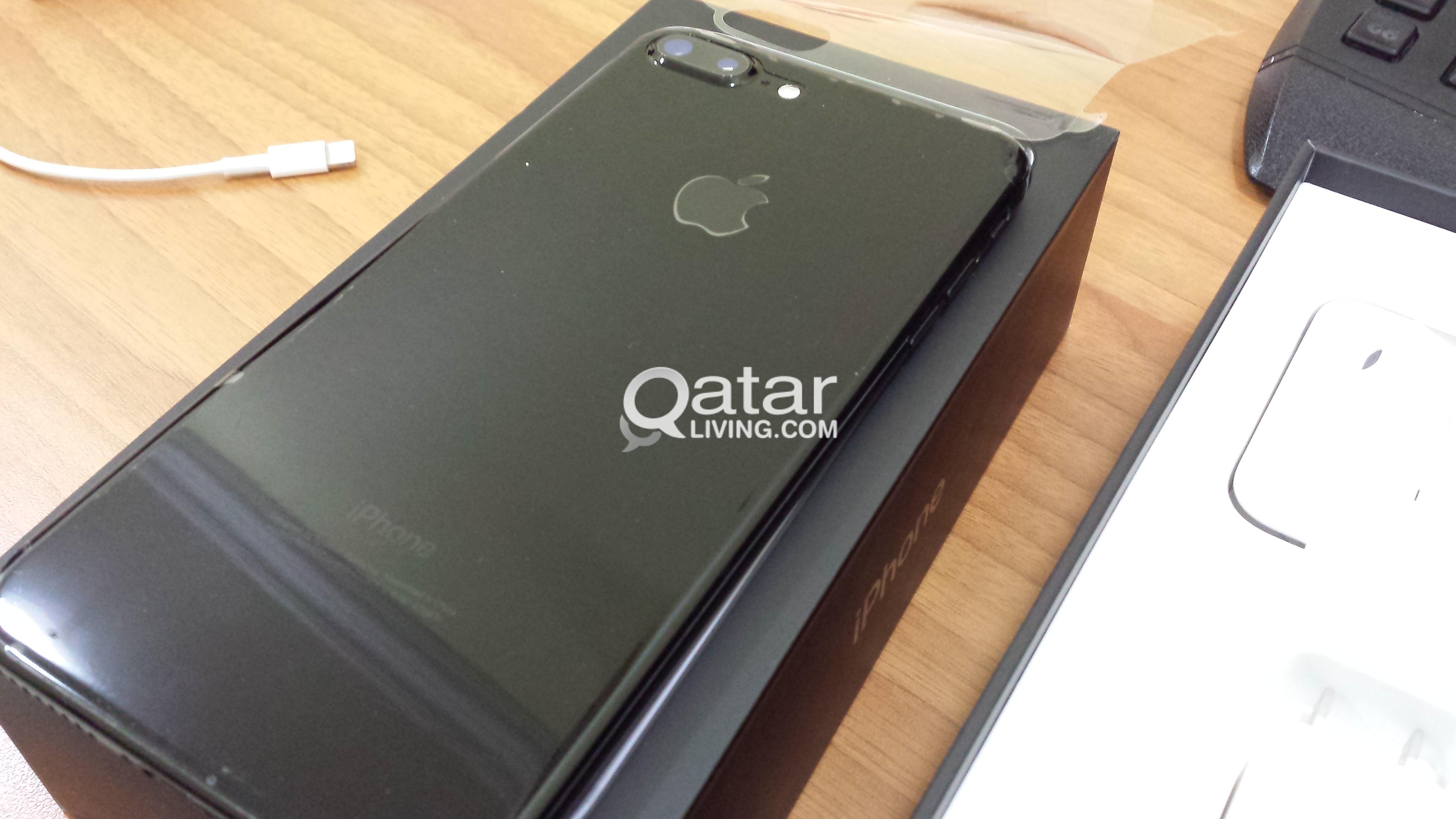 Iphone 7plus 256gb Jet Black Qatar Living 7 Plus Jetblack Title Information Sell
