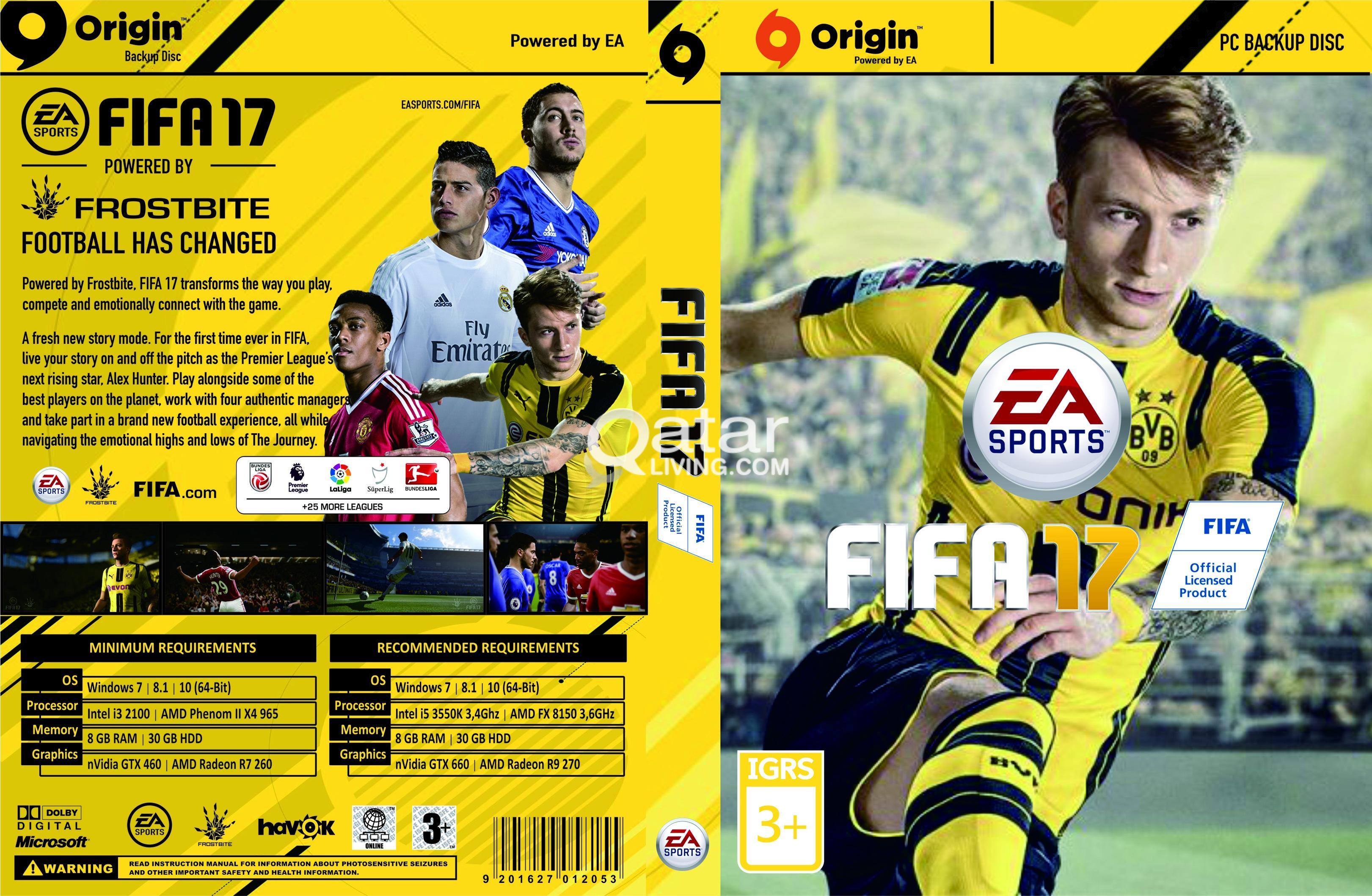 FIFA 17 OR PES 17 PS 3 | Qatar Living