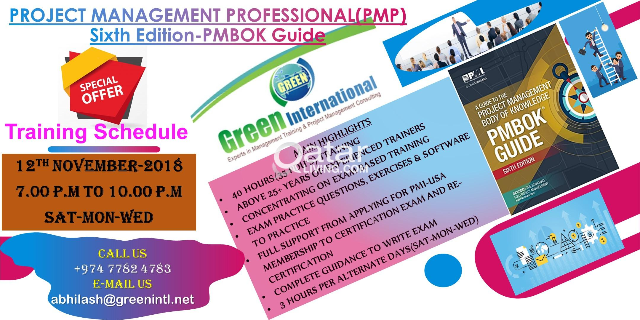 Project Management Professional Pmp Pmi Usa 6th Edition Training