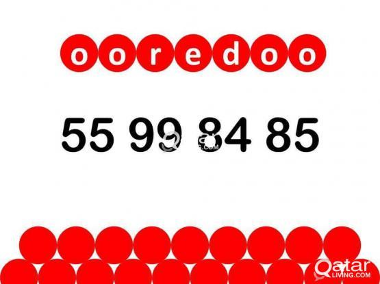 ooredoo special number 55 99 84 85.
