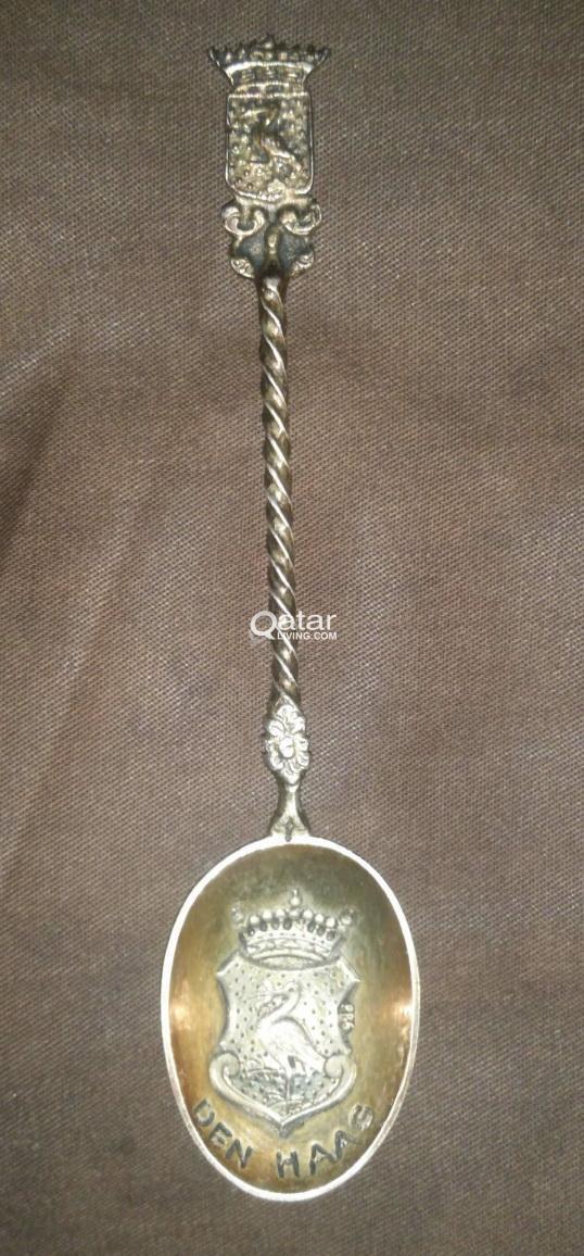 Vintage Sliver Spoons