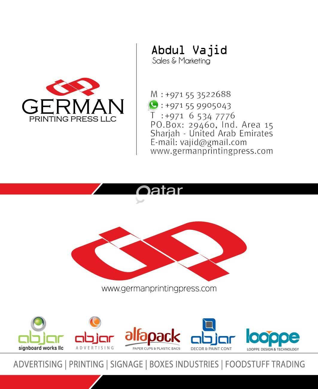 printing services attractive price from Dubai & Qatar