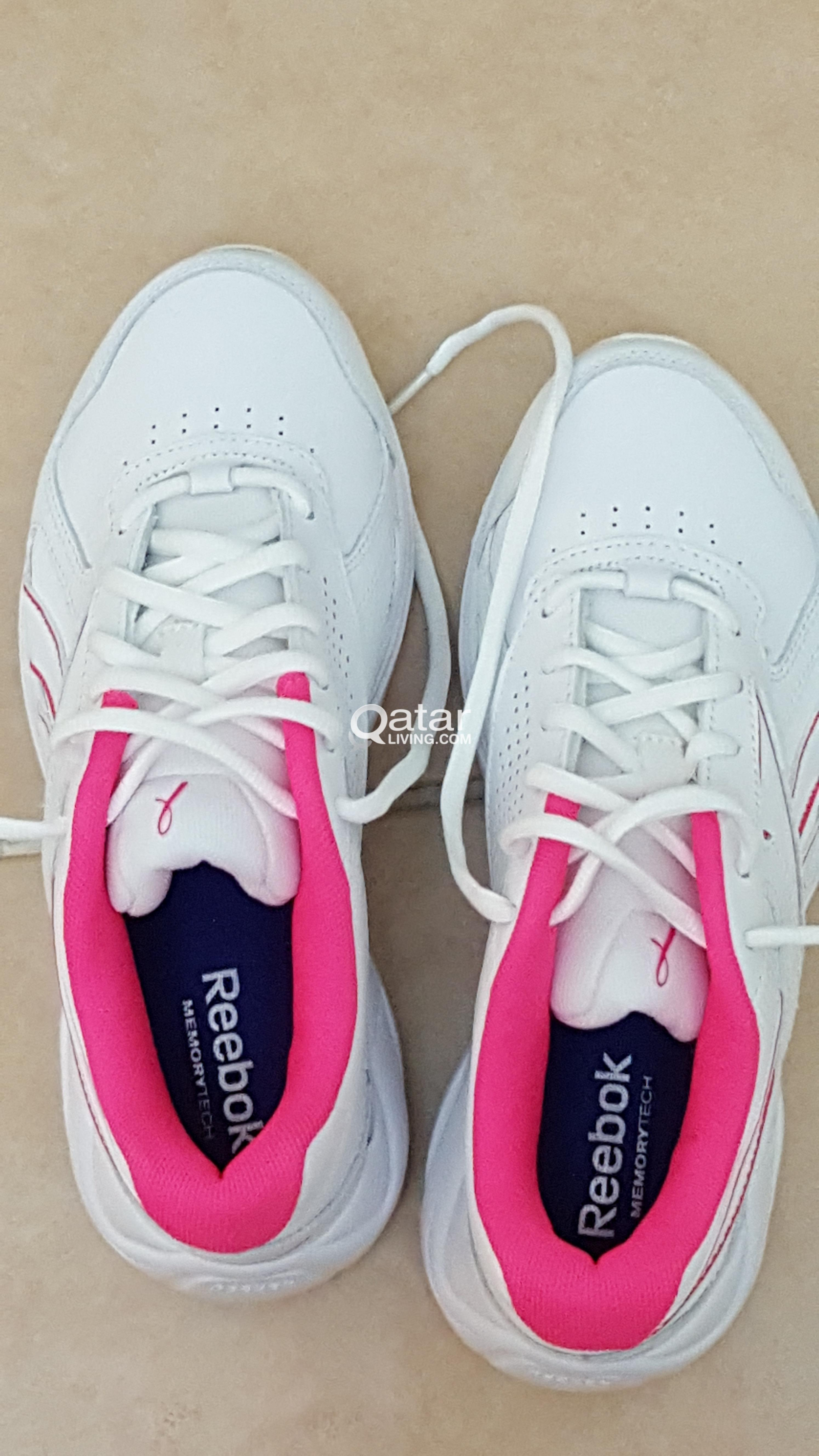 0b8849b05a2 Brand New Reebok Womens Ultra V Dmx Max White Walking Shoes Size 5.5 ...
