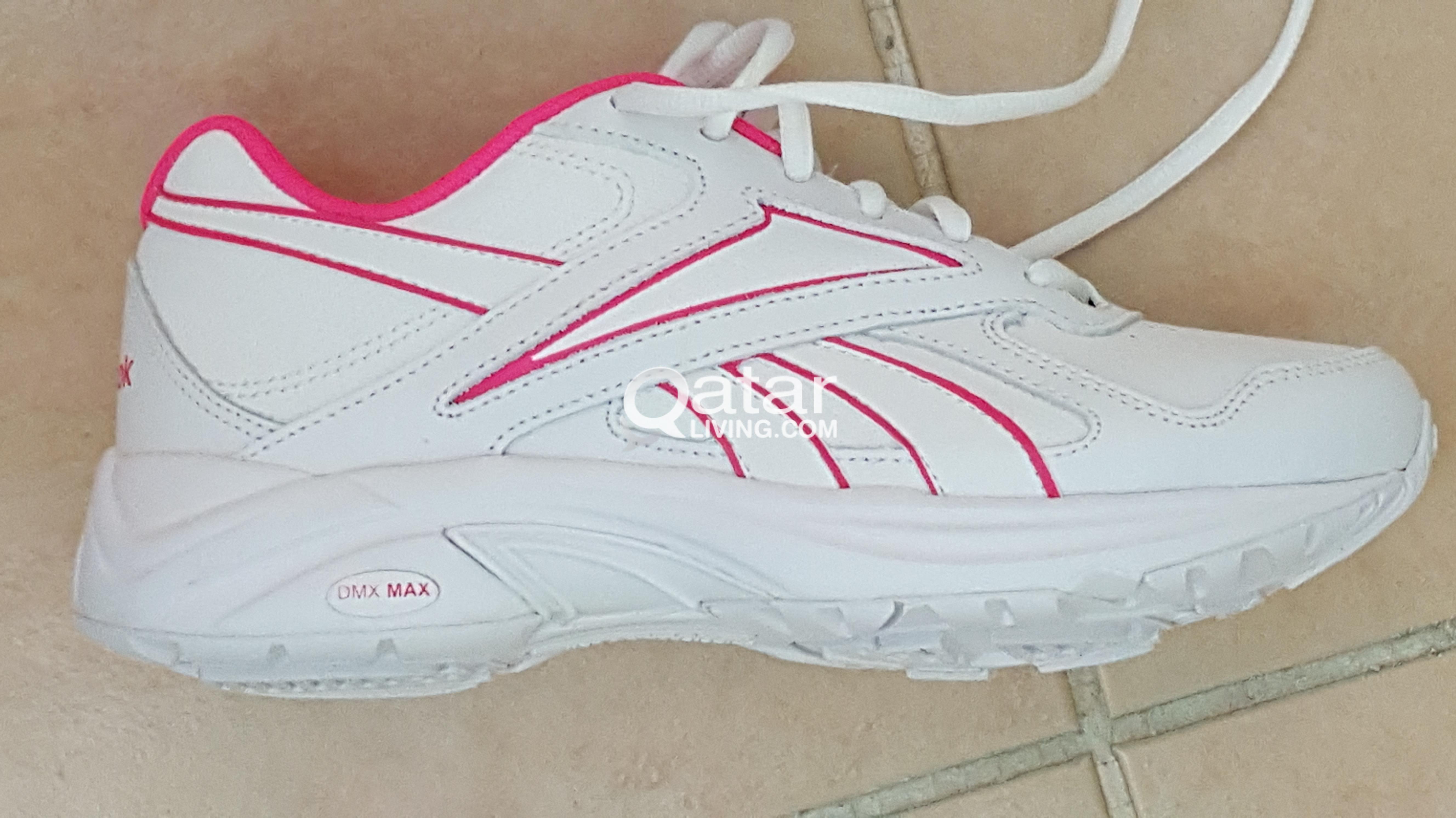 b961e540d09ed Brand New Reebok Womens Ultra V Dmx Max White Walking Shoes Size 5.5 U.S. 36  EUR