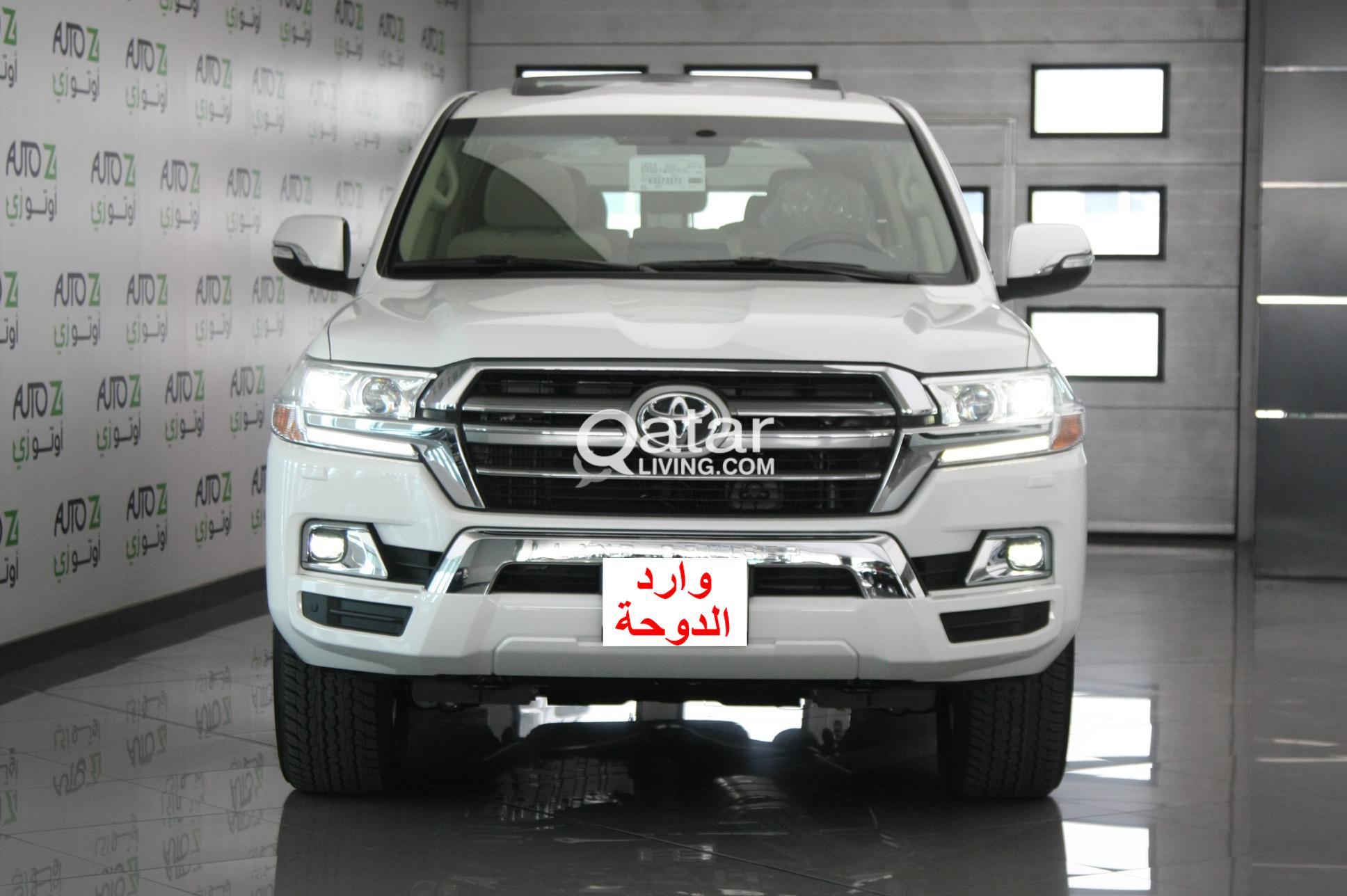 Toyota Land Cruiser Gxr White 2019 Qatar Living Ii Title
