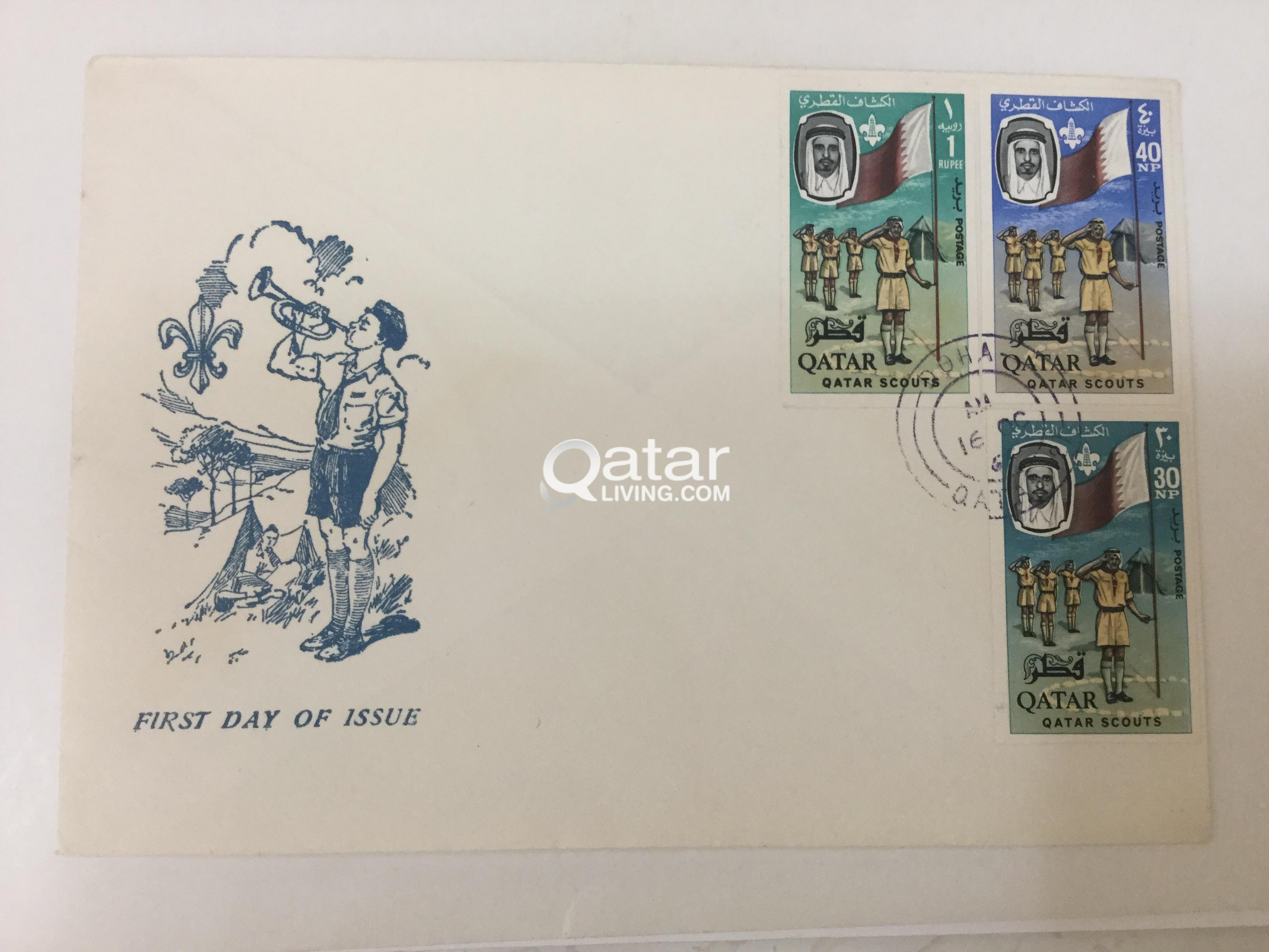 Stamps for sale special offer | Qatar Living