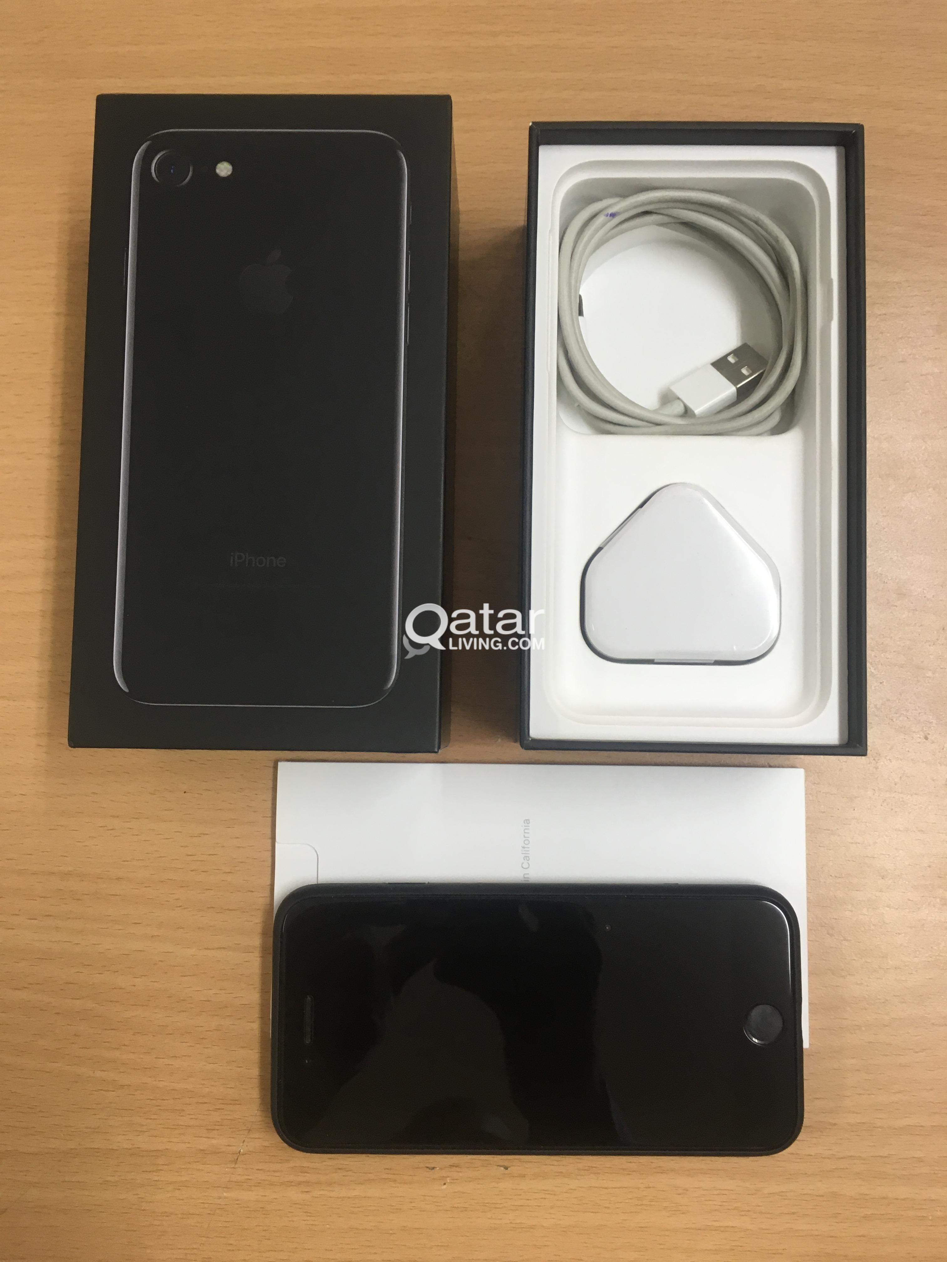 SWAP OR SALE  :  Iphone 7,  256 GB - Jet Black