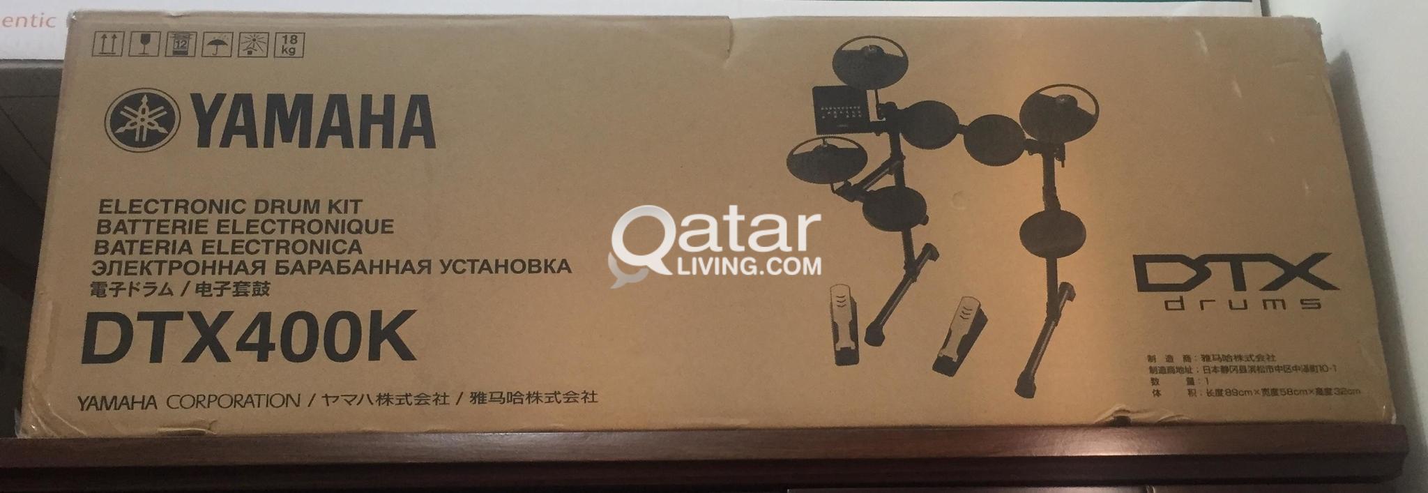 Yamaha DTX 400K (electronic drum kit) Qr  2100/- contact