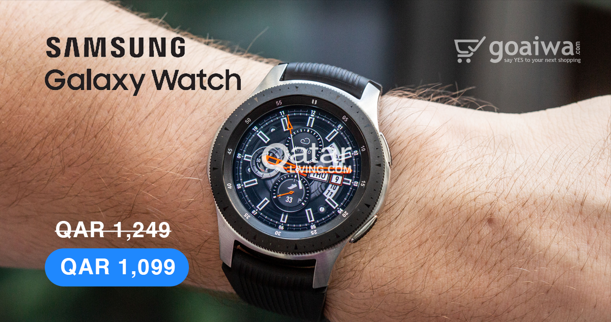 Samsung Galaxy Watch Only for QAR 1099