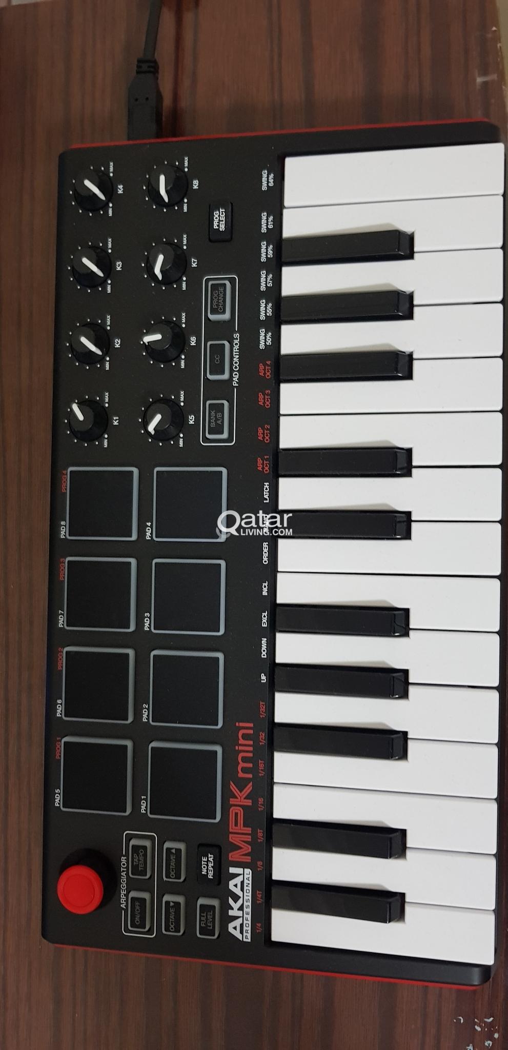 Akai Professional MPK Mini MKII - USB MIDI keyboard | Qatar Living