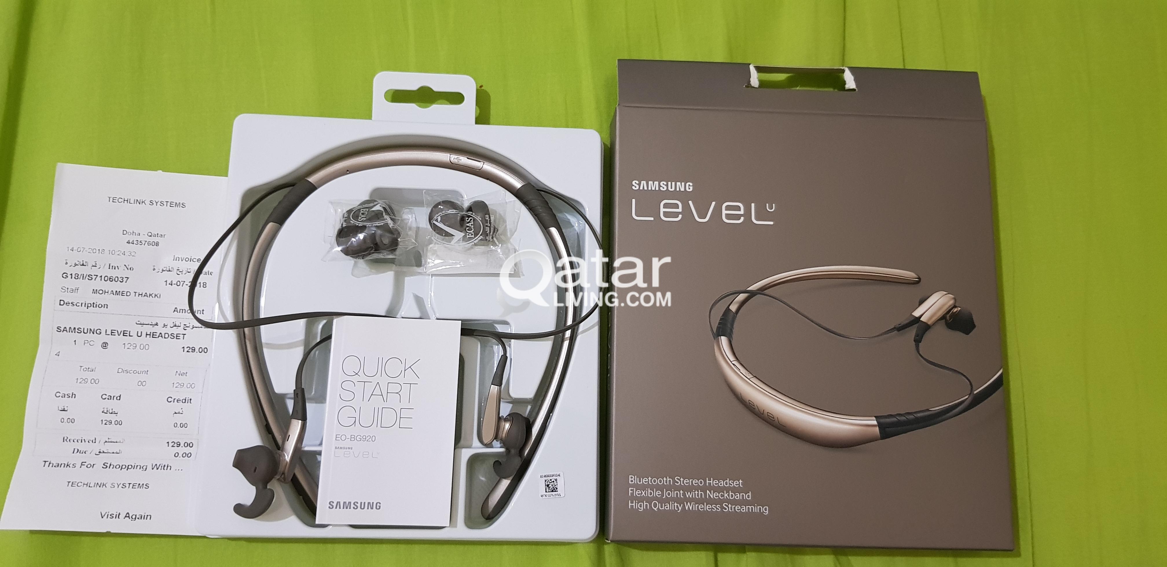 Samsung Level U Headset Qatar Living