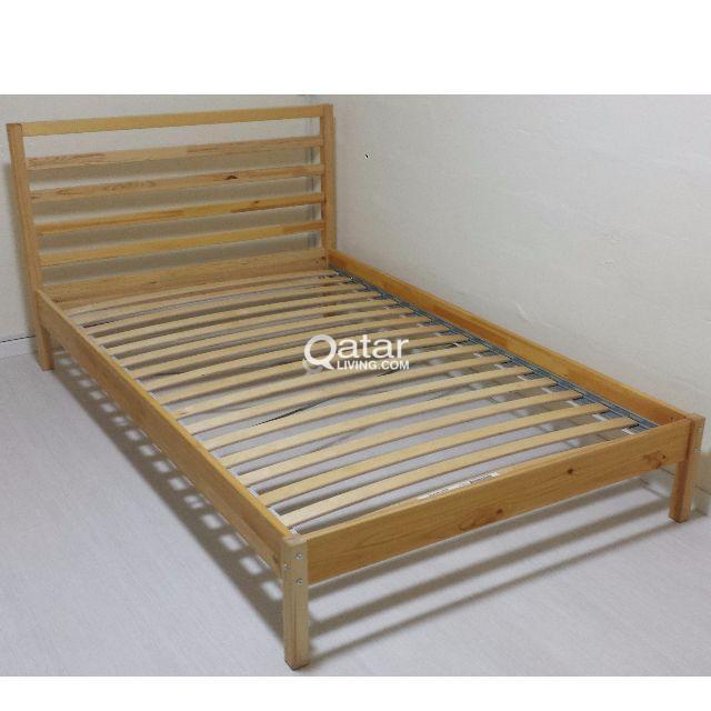 new styles ca671 017d6 IKEA SINGLE BED FRAME TARVA | Qatar Living