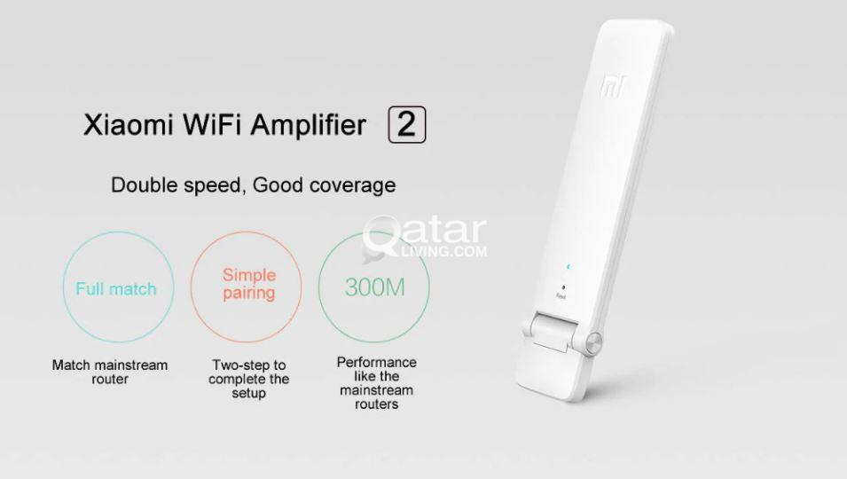 Original Xiaomi Mi WIFI Amplifier 2 Repeater 300Mbps Universal