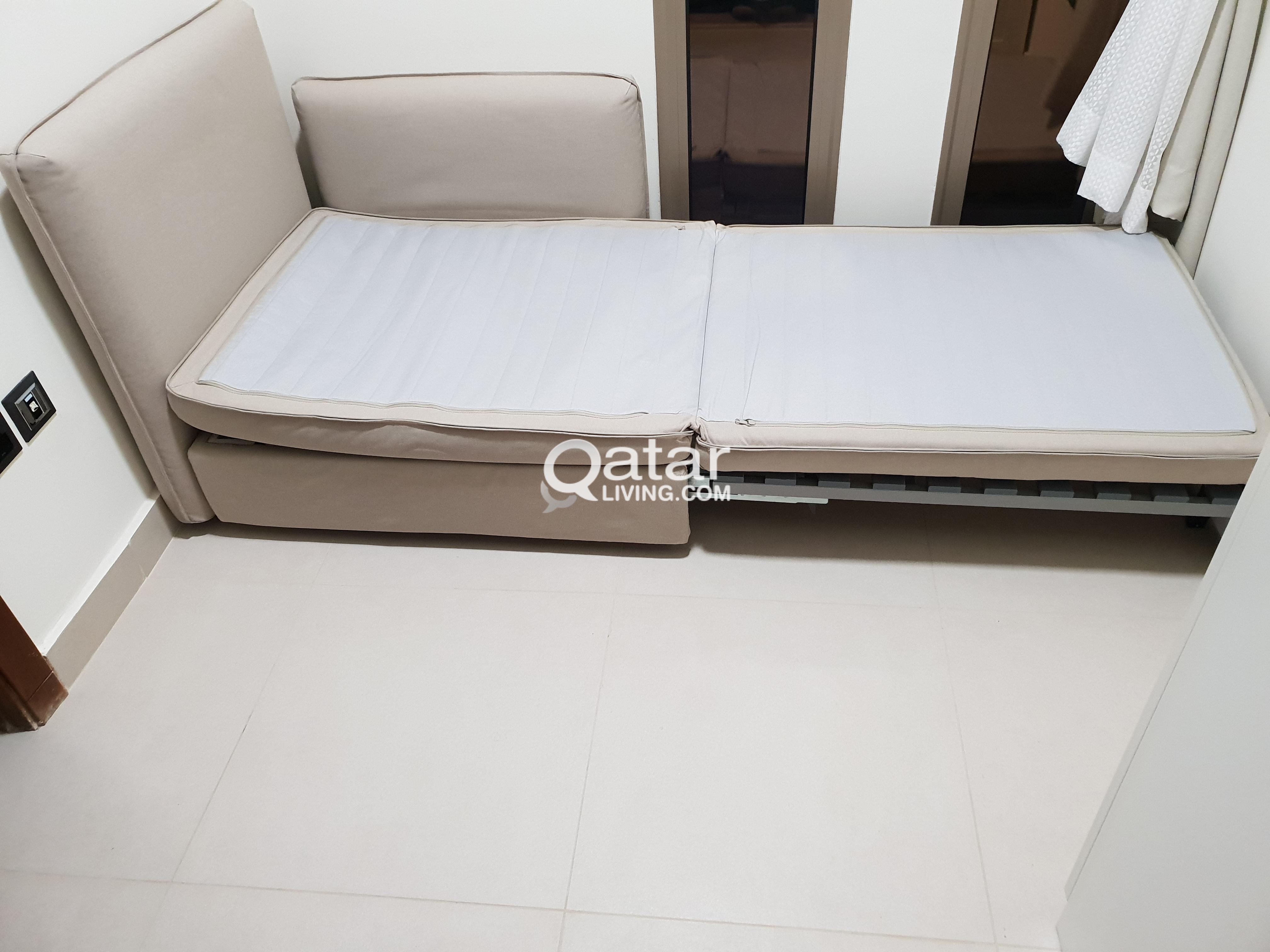 Vallentuna Sofa Bed Module Ikea Qatar Living