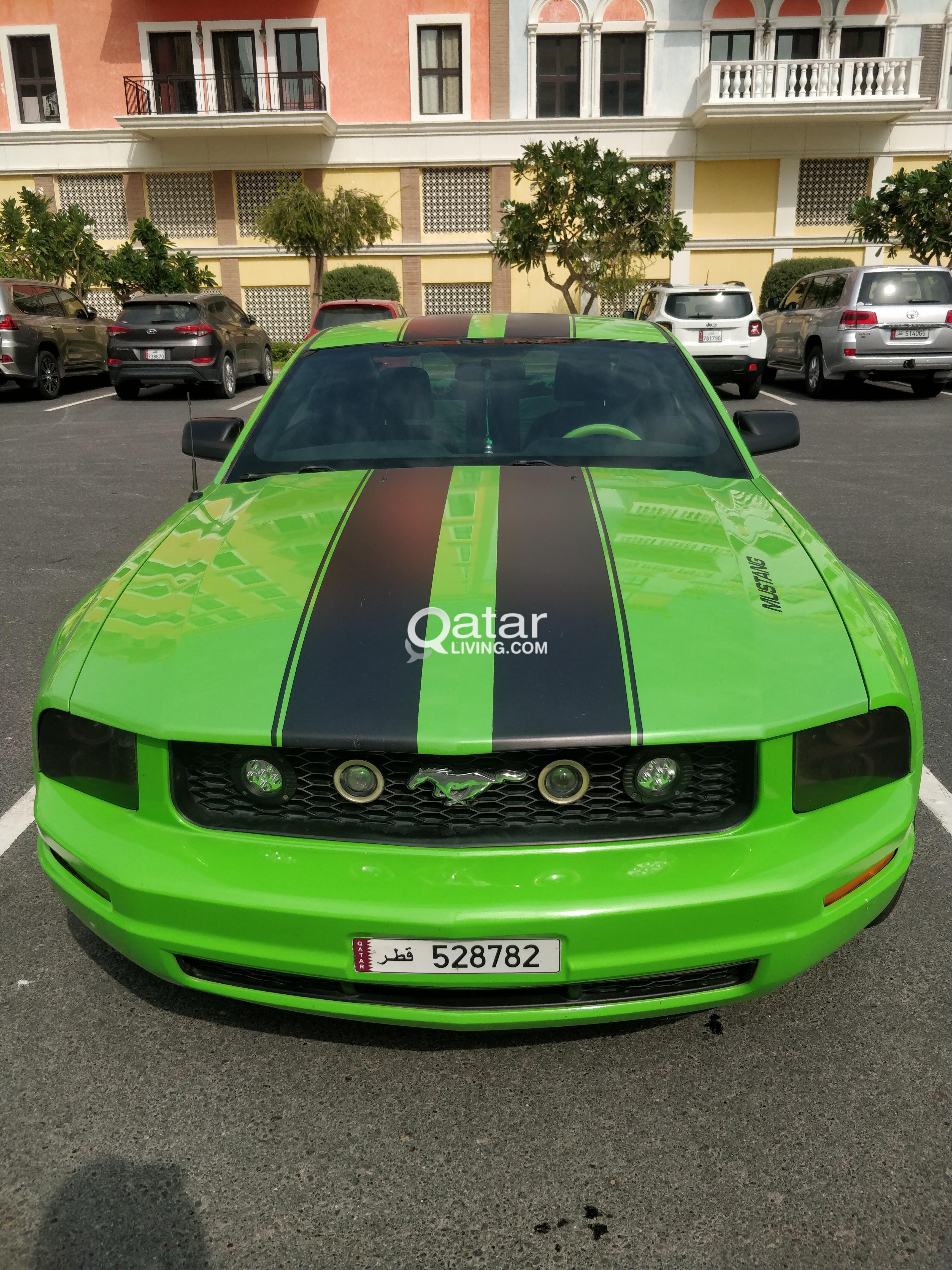 Mustang 2007 v6 automatic qatar living