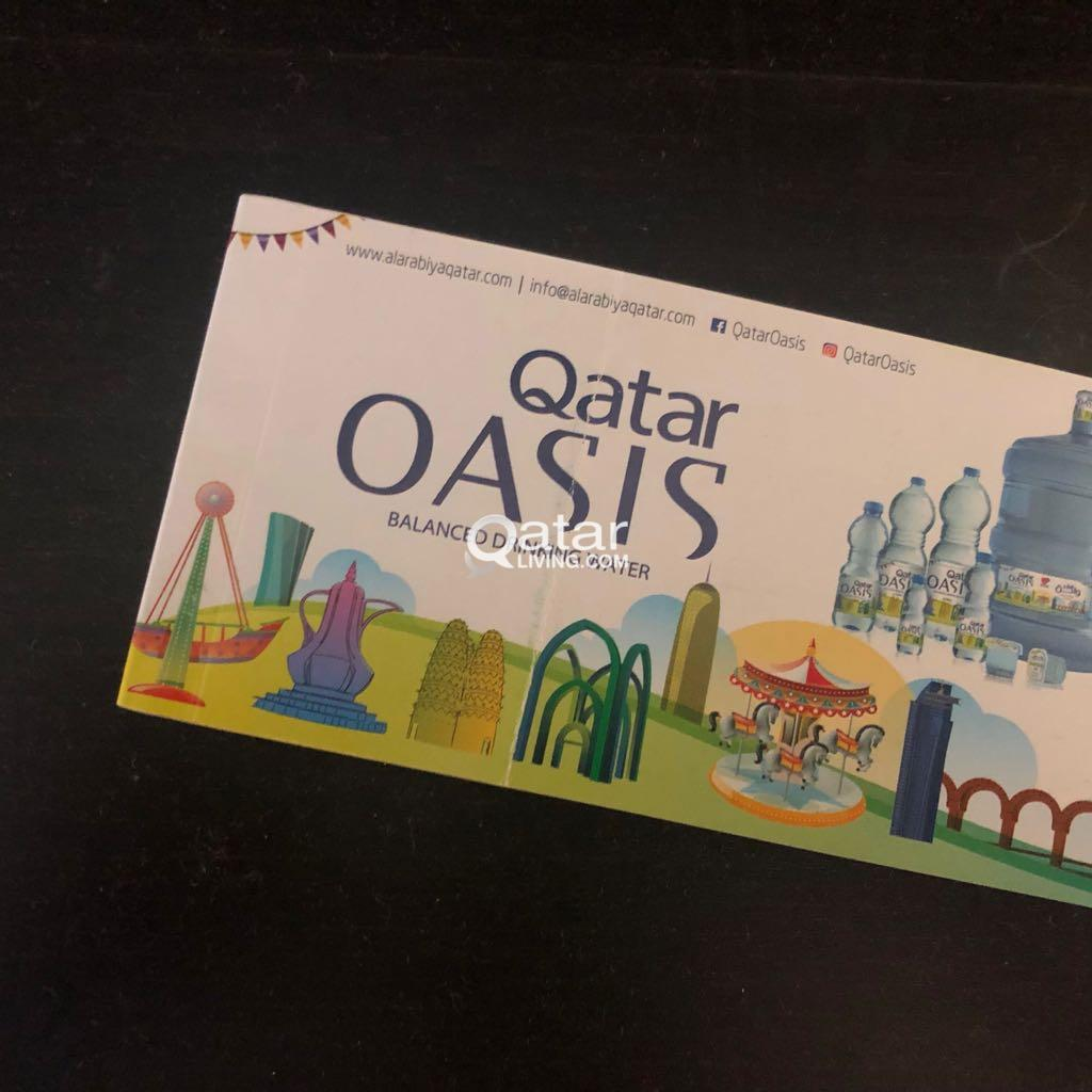 oasis water coupons | Qatar Living