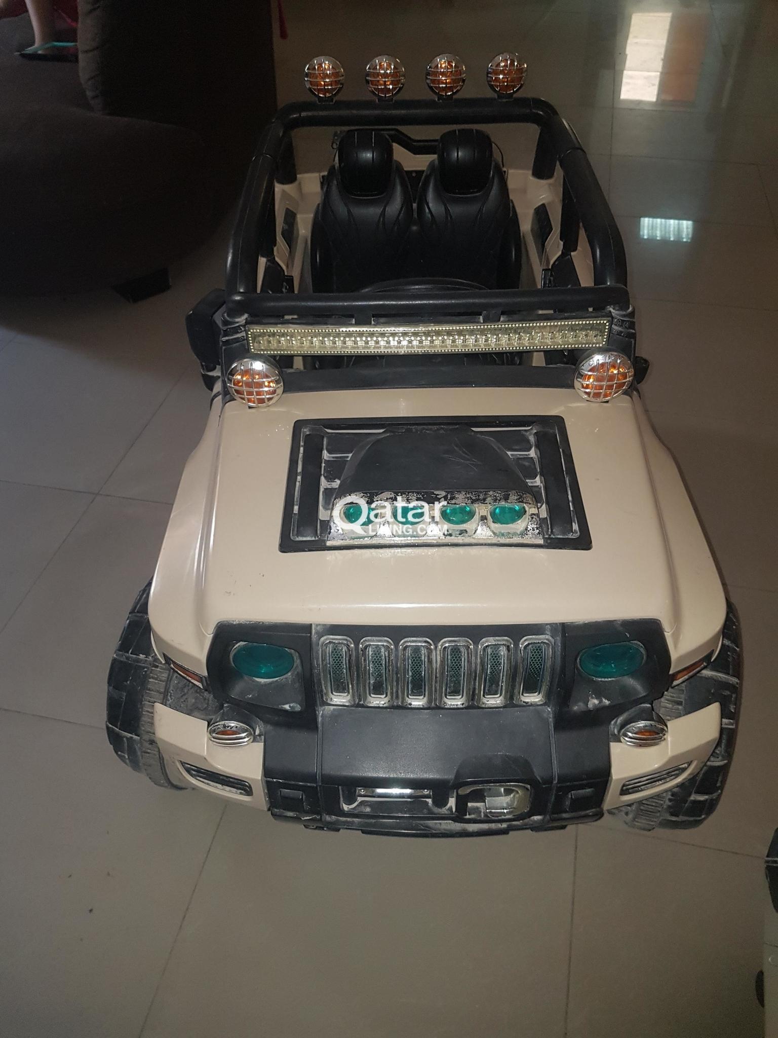 Le Information Kids Hummer Electric Car