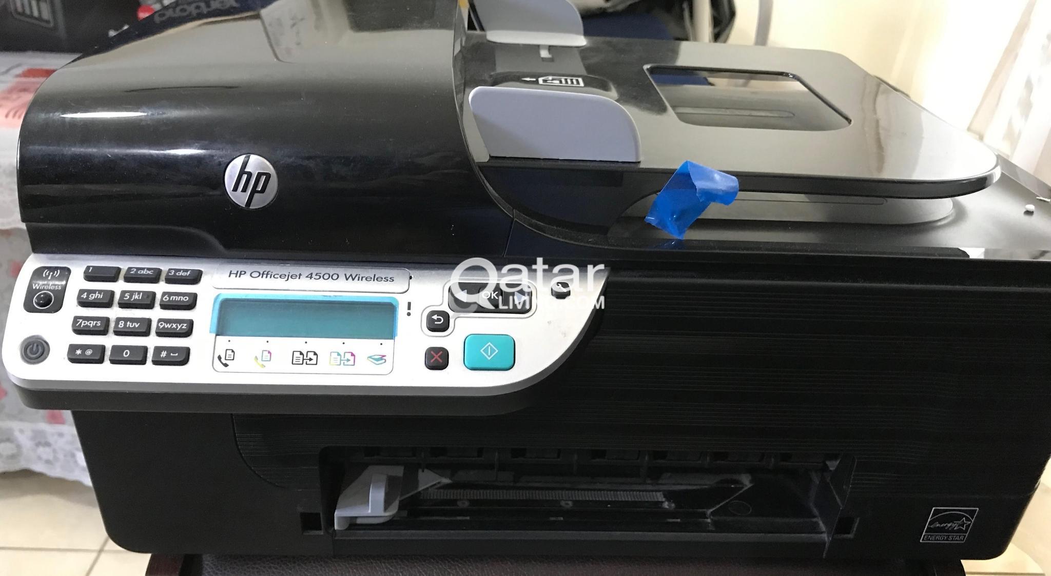 HP 4500 SERIES WIRELESS PRINTER | Qatar Living