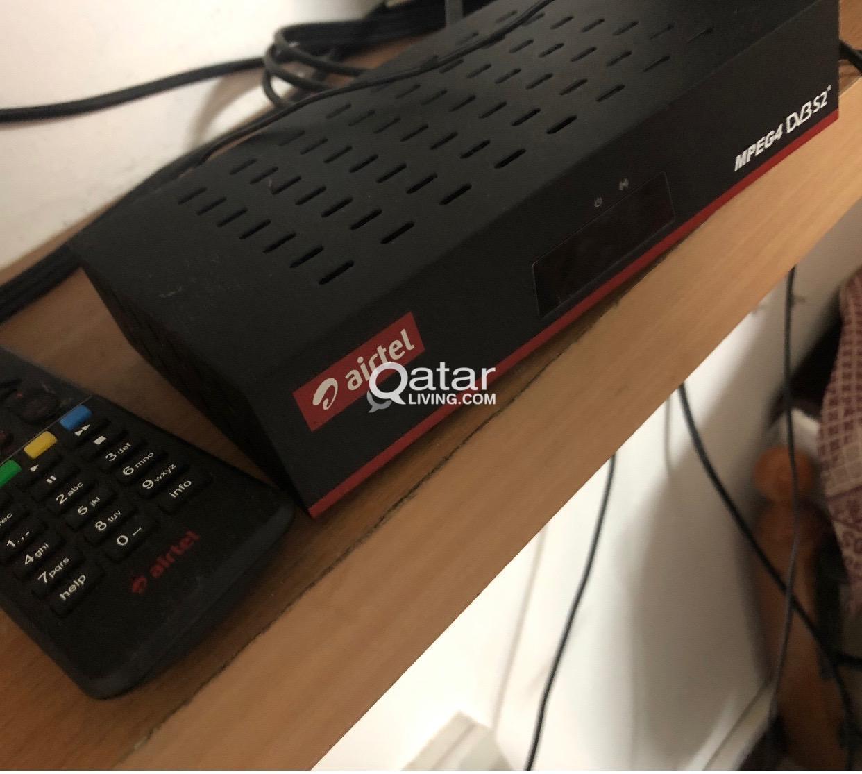Airtel set top box   Qatar Living