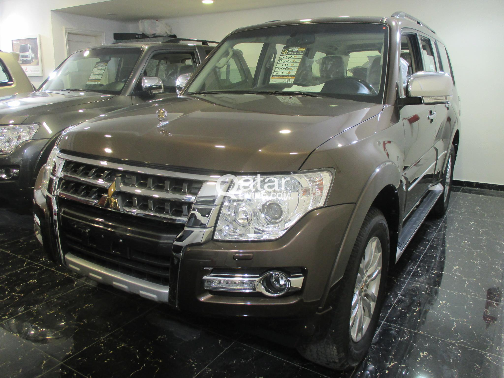 2017 pajero 3.8L GOLD EMBLEM PACKAGE