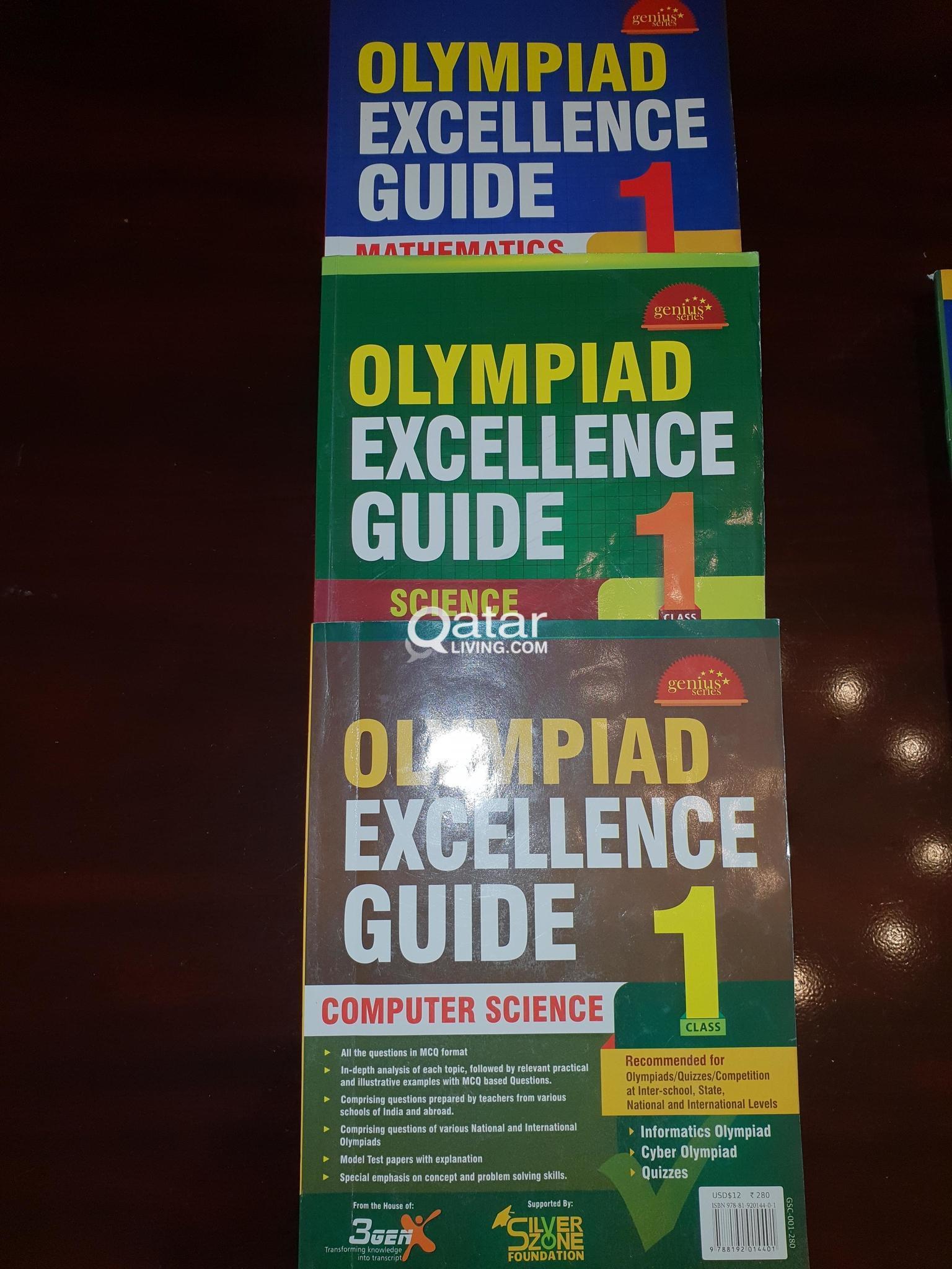 Carefully used Olympiad books (Class1)   Qatar Living
