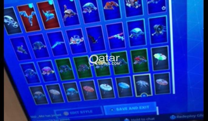 fortnite account for sale with resident evil 7 | Qatar Living