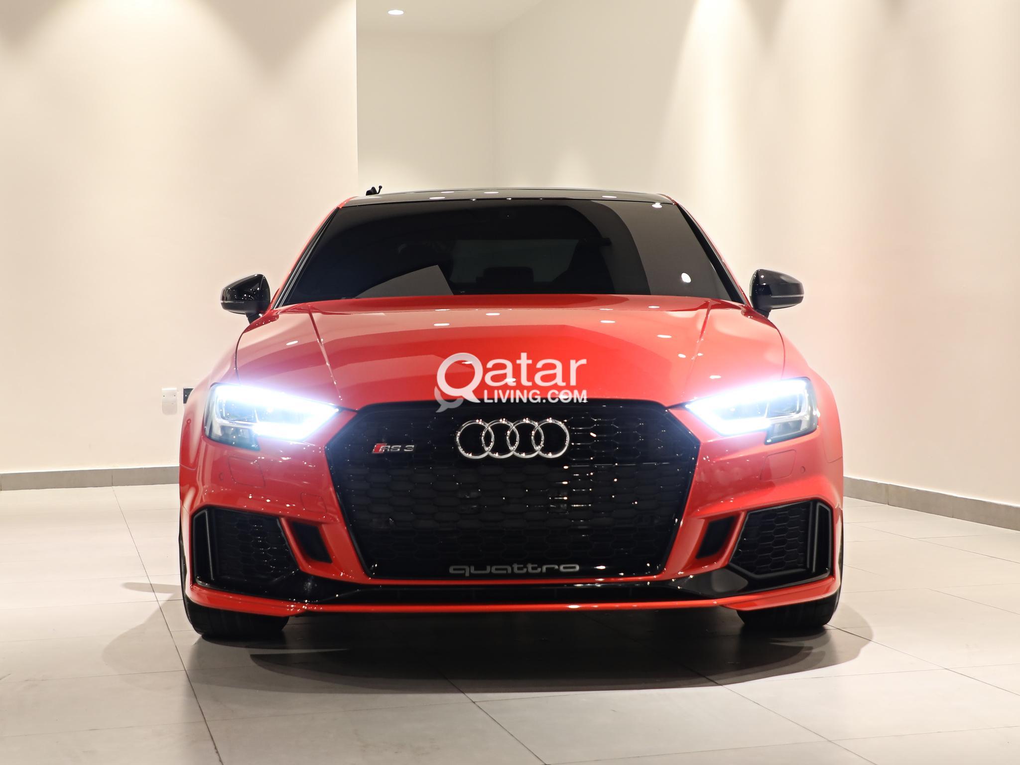 Audi RS3 Red | Qatar Living