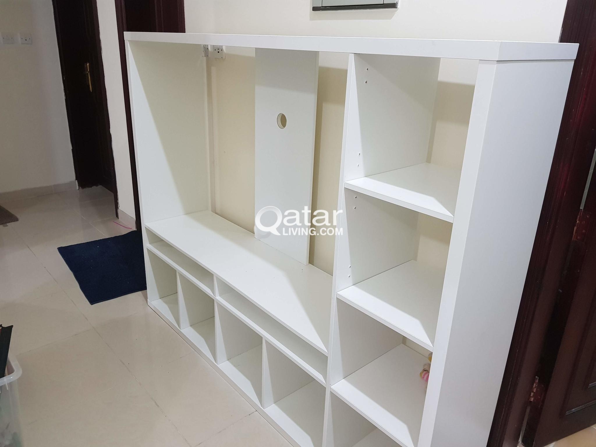 Ikea Lappland Tv Storage Unit White Qatar Living