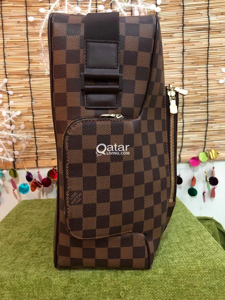 872fe6e9d769 Information. 100% AUTHENTIC LOUIS VUITTONOLAV GMGRADE A This modern design Louis  Vuitton Olav GM Messenger Bag ...