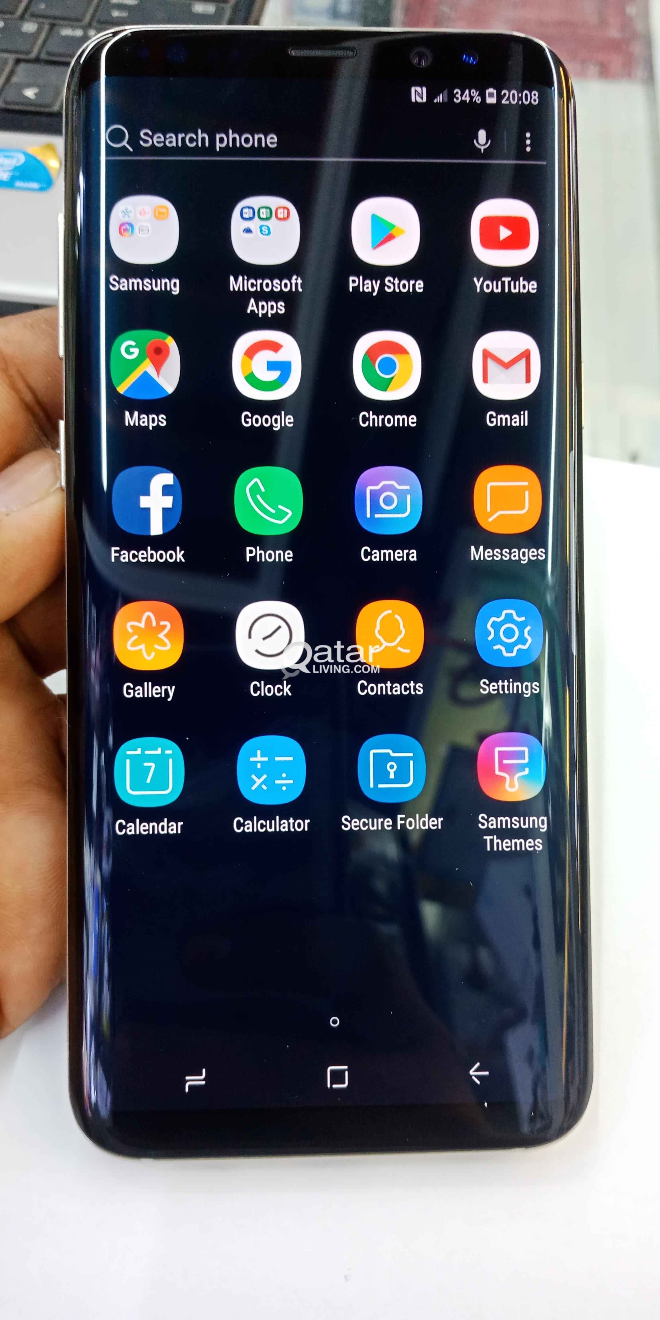 Samsung S8 edge 4/32 gb   Qatar Living