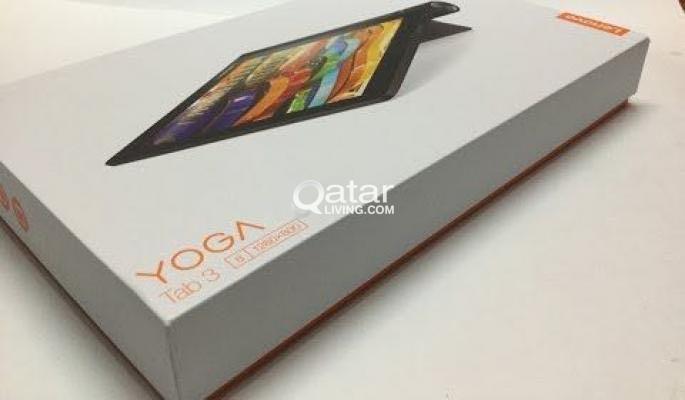 Lenovo Yoga Tab 3 in box and warranty