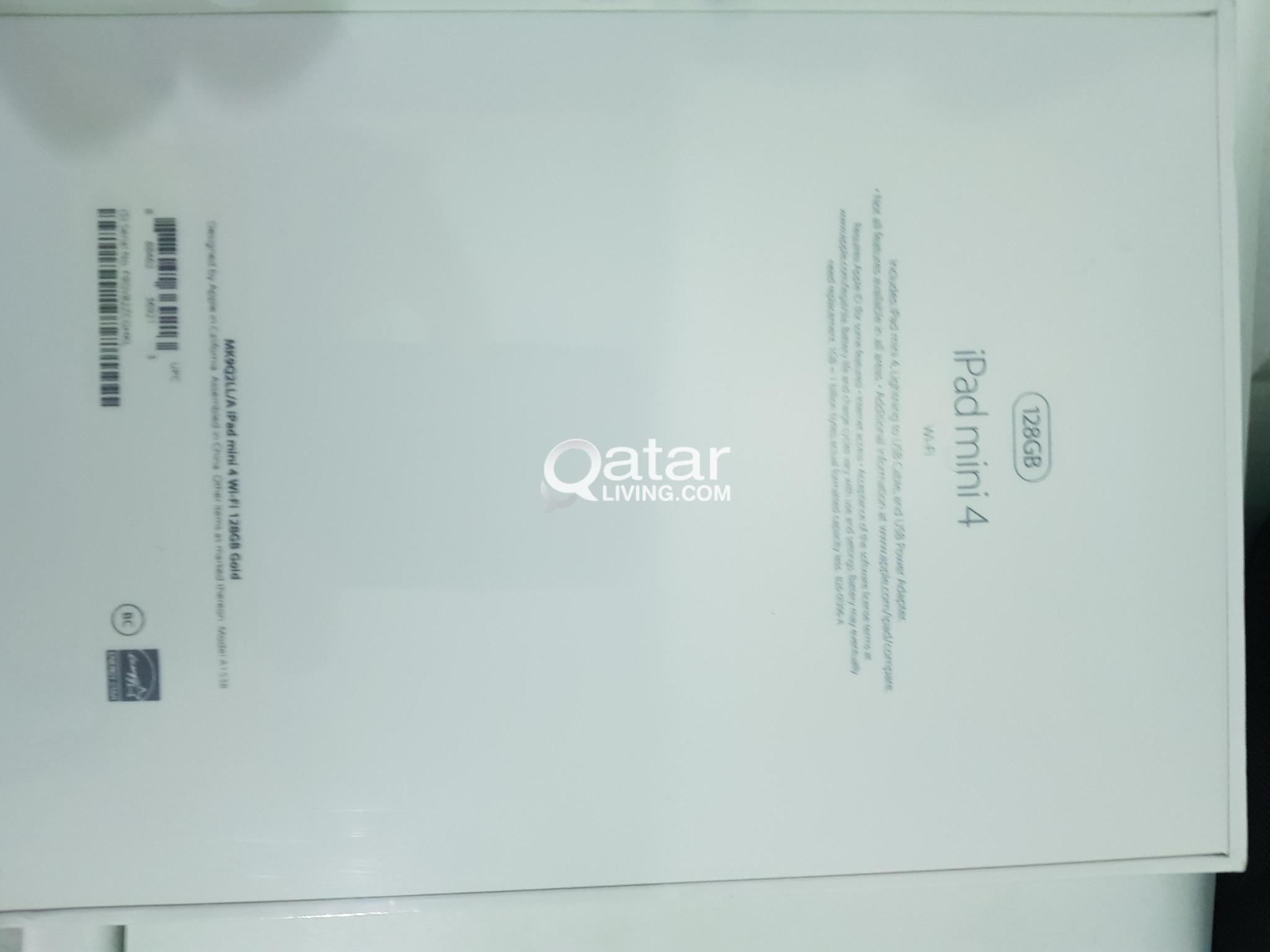 IPad mini 4 128gb gold wifi sealed  pack