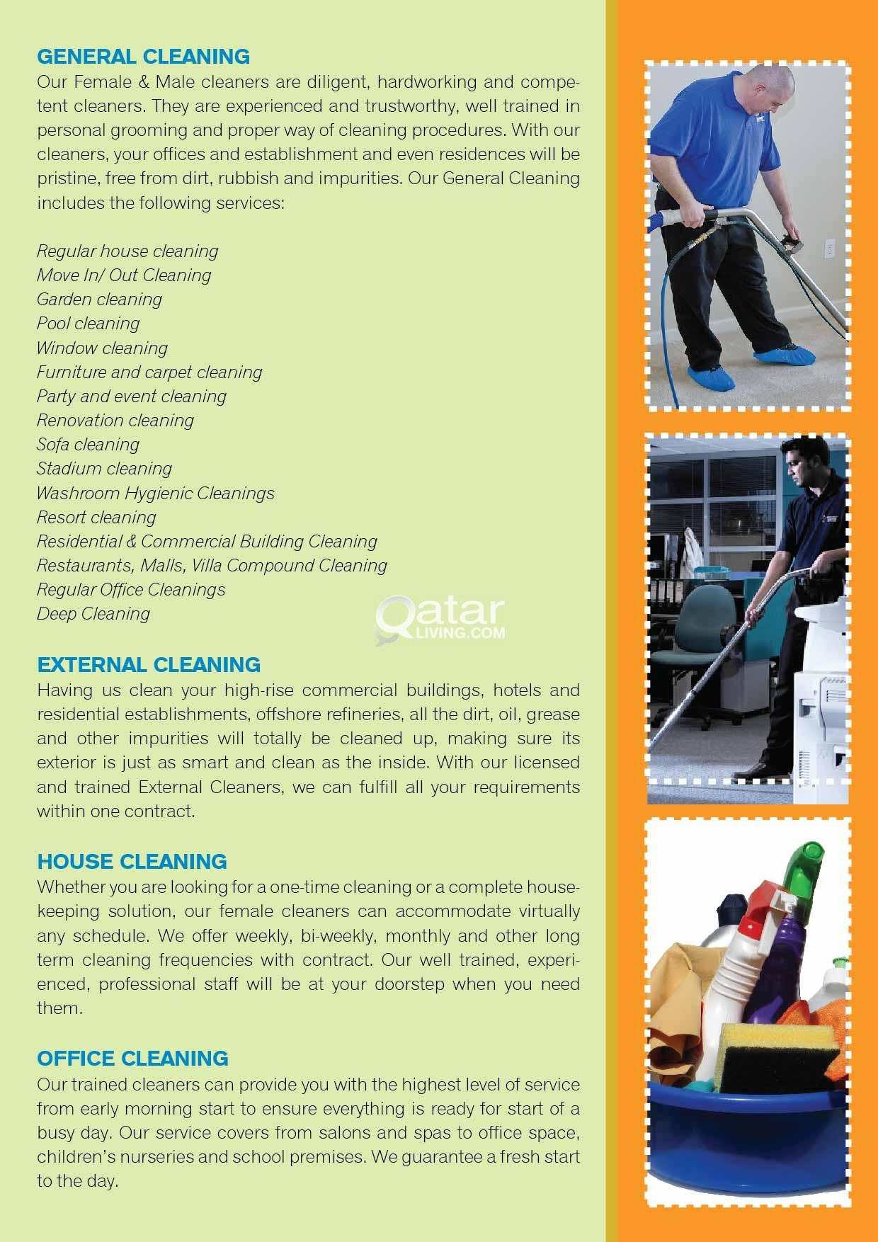 Liyalina Hospitality & Cleaning Services.