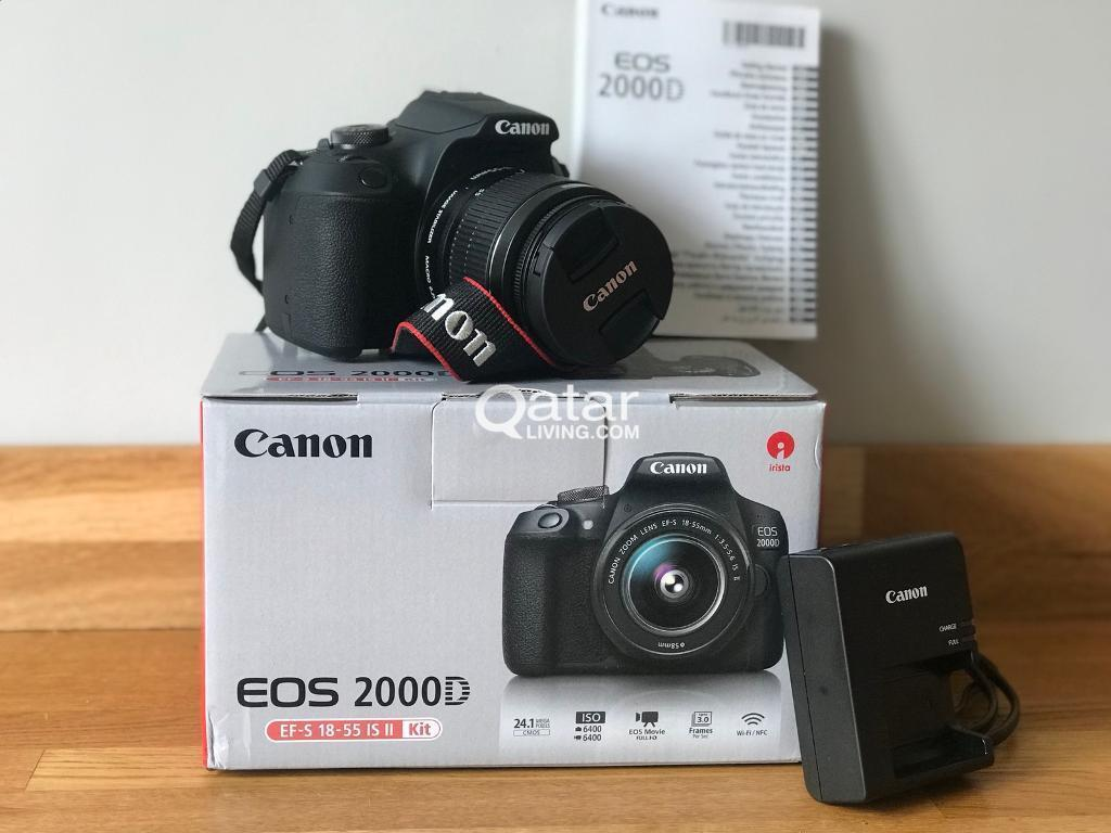 Canon 2000d Dslr Camera 3 Months Old Qatar Living
